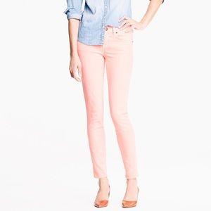 J.CREW Toothpick Skinny Ankle Jeans , 28